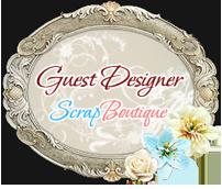 Я приглашенный дизайнер в Scrap Boutique