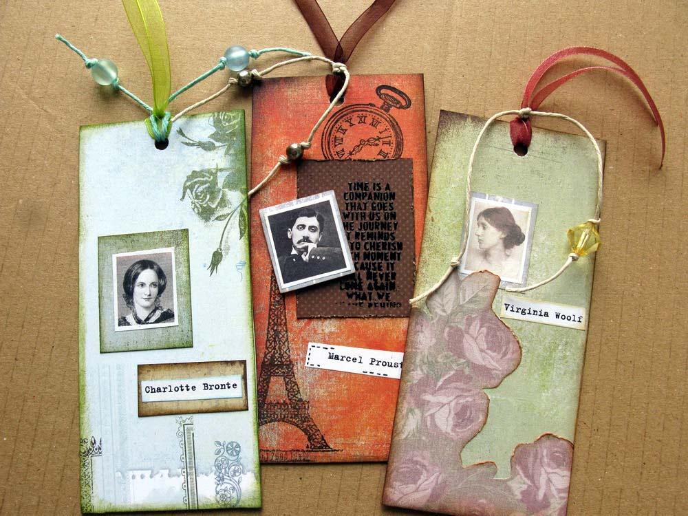 Фото закладок для книг своими руками
