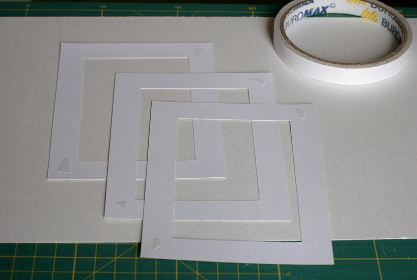 Простая рамка для фото из бумаги