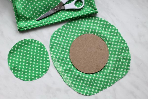 Как сделать игольницу из картона своими руками